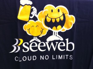 maglietta seeweb cloud no limits