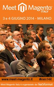 Meet Magento Italy 2014: la locandina