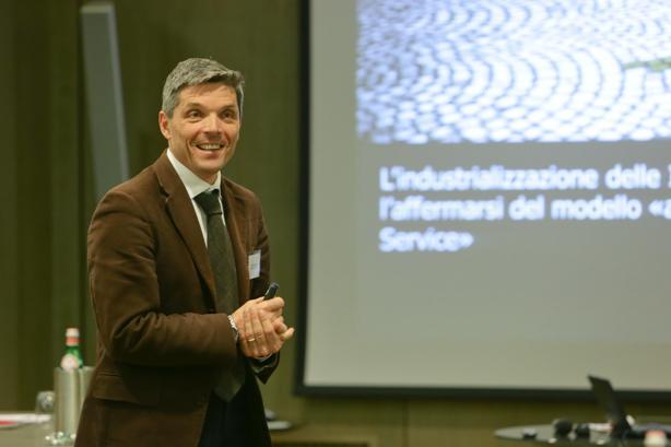 Stefano Mainetti , co-direttore dell'Osservatorio Cloud & ICT as a Service della School of Management del Politecnico di Milano