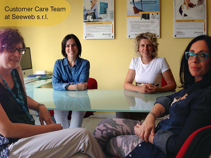 Assistenza clienti Seeweb team