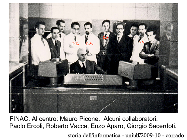 Il gruppo di lavoro del FINAC.
