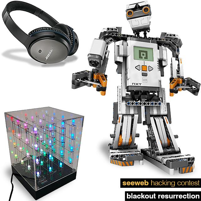 Seeweb Hacking Contest gadget