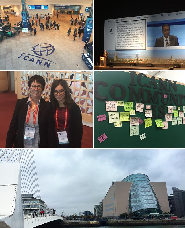 ICANN54 meeting - Veronica Giovannone e Laura Abba