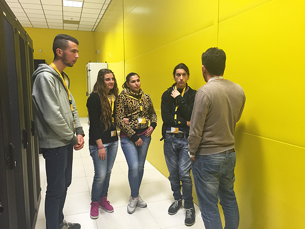 Visita al data center Seeweb per il Contest Linux Day