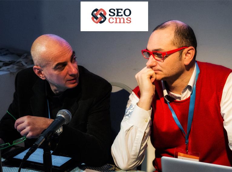 SEOcms: Maurizio Palermo e Stefano Rigazio