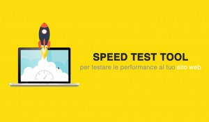 Speed Test tool per analizzare le performance del sito web