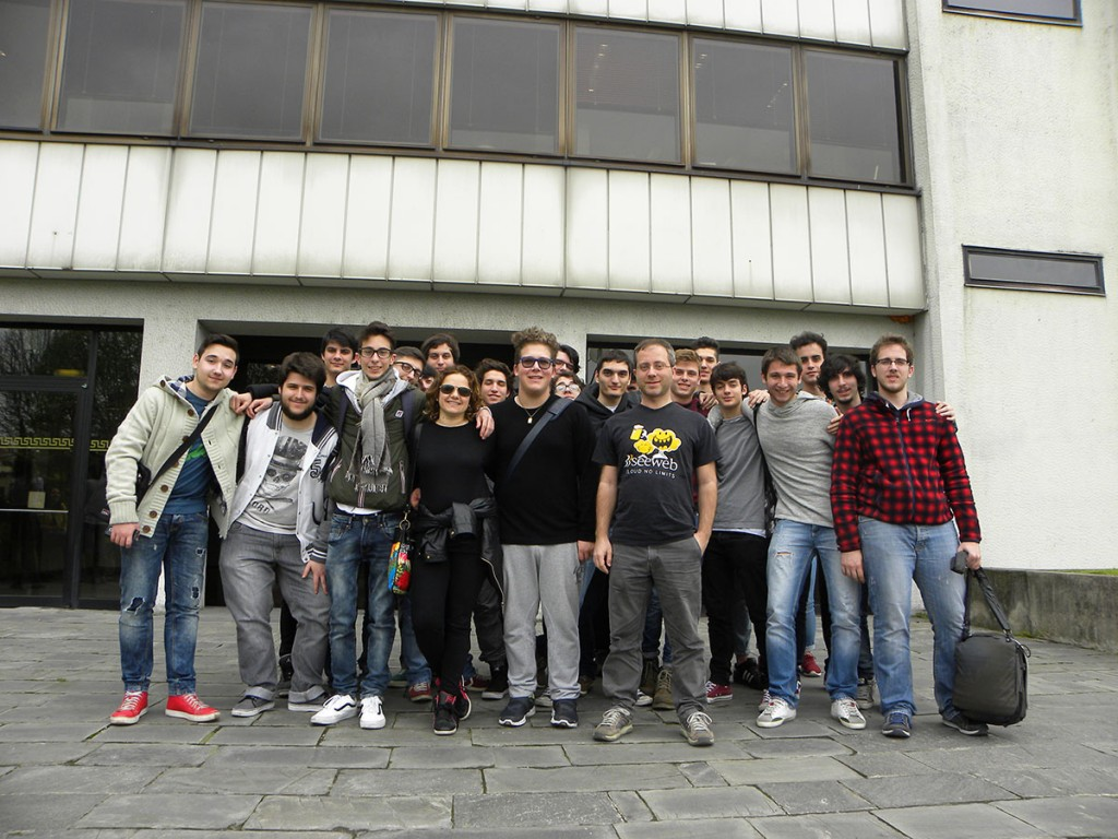 Visita al data center Seeweb