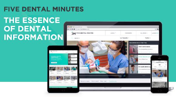 5Dental Minutes piattaforma di video sharing per dentisti