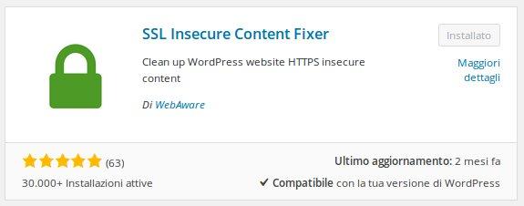 Mixed Content Fixer Install