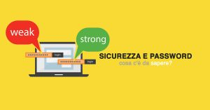 Sicurezza e password