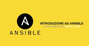 Ansible: introduzione alla Server Automation