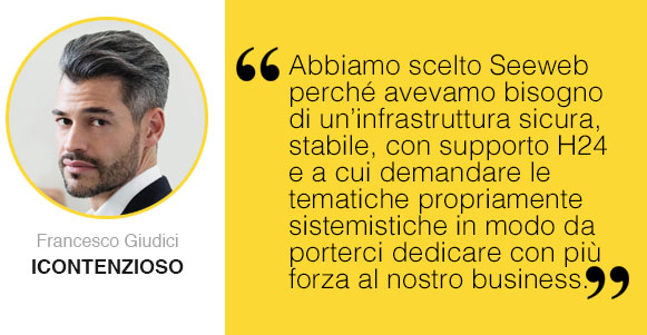 Francesco Giudici CMO e co-founder iContenzioso