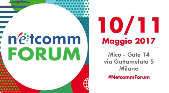 Netcomm Forum 2017 Seeweb sponsor