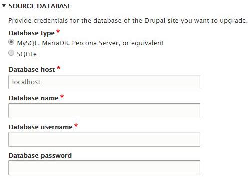 Upgrade da Drupal 7 a Drupal 8 caratteristiche