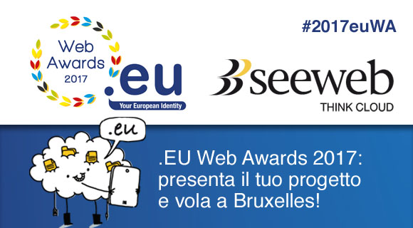 Eu Web Awards 2017 con Seeweb