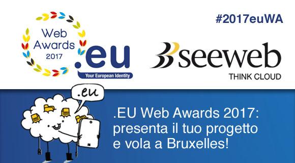 Eu Web Awards 2017 con Seeweb