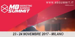 Marketing Business Summit 2017 Seeweb Sponsor