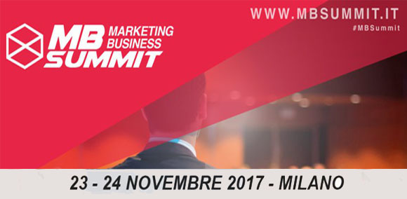 Marketing Business Summit 2017 Seeweb Sponsor