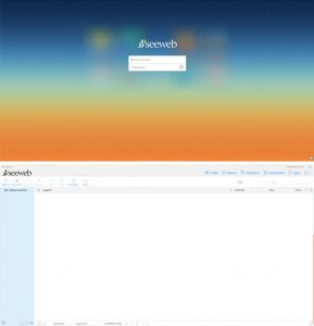 Preview della webmail disponibile su Seeweb TrueMail
