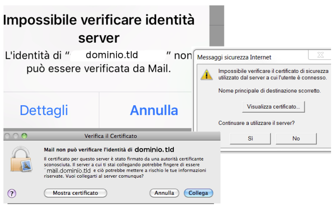 Server di posta con SSL