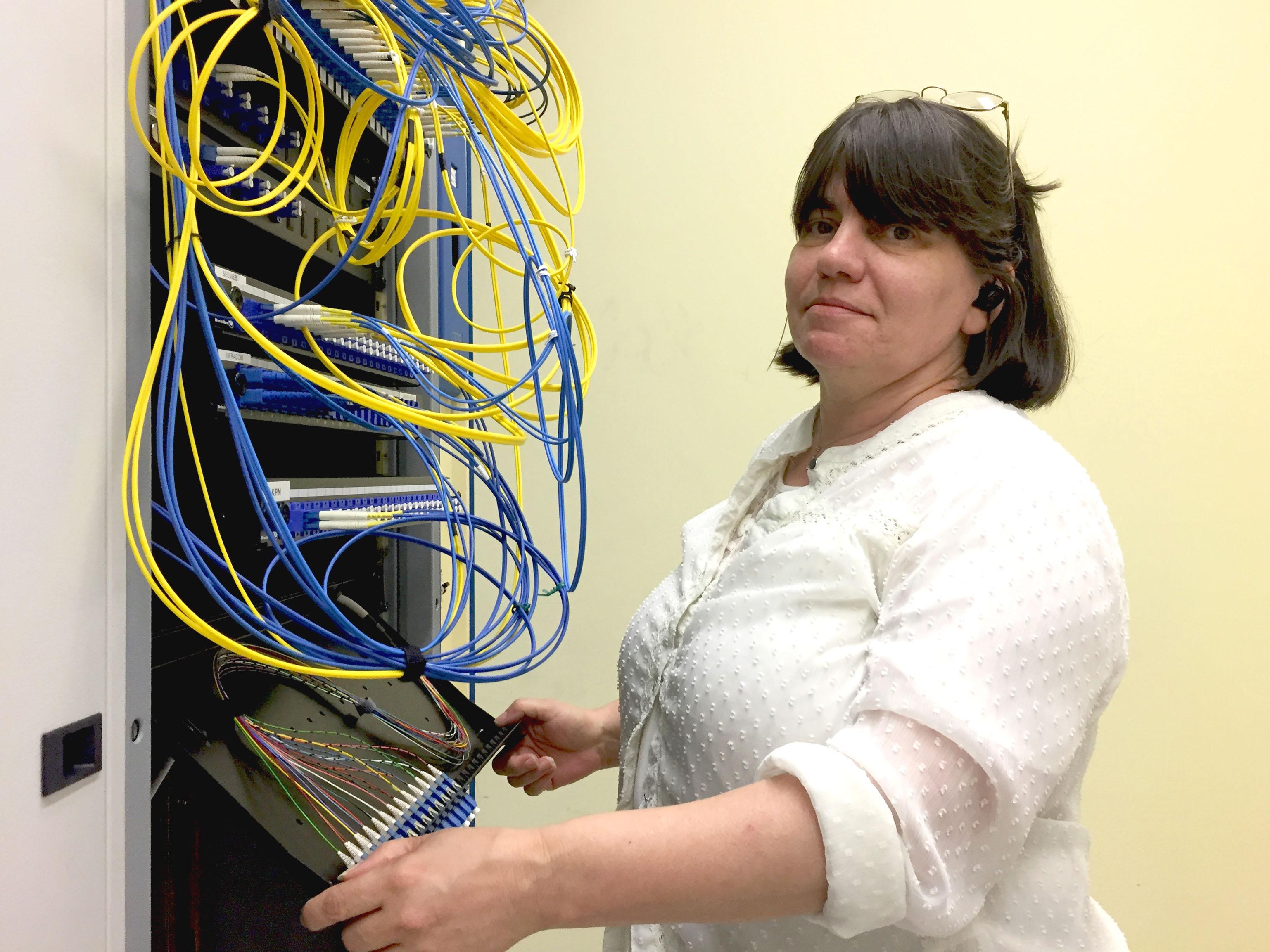 Loredana Vassallo Data Center Manager Seeweb esperta di colocation per aziende