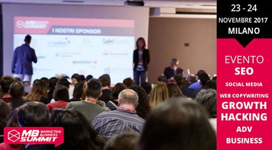 Marketing Business Summit novembre 2017
