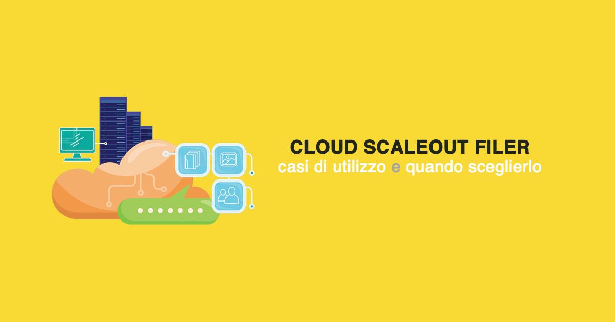 Cloud ScaleOut Filer