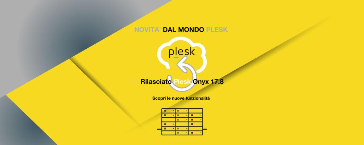 Aggiornamento Plesk Onyx