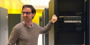 Dettaglio IBM Flash 9000 nel datacenter Seeweb di Frosinone