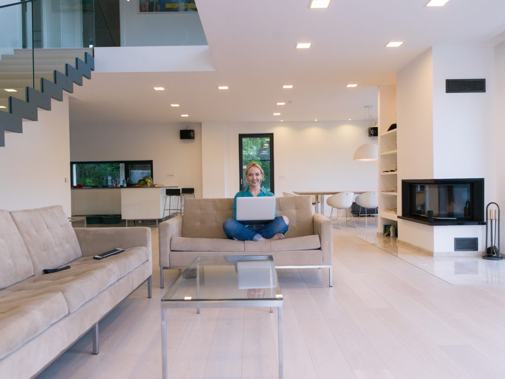 smart home con l'Internet of things
